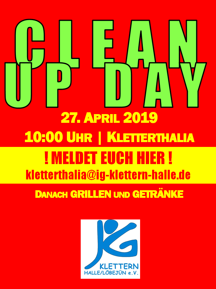 CLEAN UP DAY 27042019